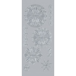 "Blue Hills Studio™ DesignLines™ Outline Stickers Silver #32: Metallic, 4"" x 9"", Outline, (model BHS-DL032), price per pack"