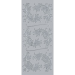"Blue Hills Studio™ DesignLines™ Outline Stickers Silver #6: Metallic, 4"" x 9"", Outline, (model BHS-DL006), price per pack"