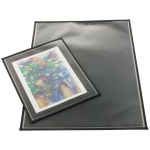 "Prestige™ Archival Print Protector 18"" x 24"": Black/Gray, Polypropylene, 18"" x 24"", (model AA1824-6), price per pack"