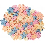 "Blue Hills Studio™ Irene's Garden™ Jar O'Blooms Potpourri: Multi, Paper, 2 1/2"", Dimensional, (model BHS808), price per each"