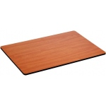 "Alvin® WBR Series Cherry Woodgrain / White Drawing Board / Tabletop 24"" x 36"": Brown, White/Ivory, Melamine, 24"" x 36"""