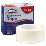 "Alvin® Double-Sided Tape 1"" x 25ft: White/Ivory, 1"" x 25', Double-Sided, 1"""