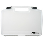 "Artbin® Quick View™ Standard Base 17"" Carrying Case: Clear, Polypropylene, 17"", (model 8017AB), price per each"