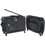 Tutto® Storage on Wheels Medium Tote Bag : Black/Gray, Medium, (model 4220MA-M), price per each