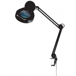 "Alvin® 1.75x Magnifier Lamp Black: 1.75x, 5"", Desk, 8-25w, (model ML255-B), price per each"