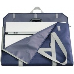 "Prestige™ PXB™ Series Soft-Sided Art Portfolio 18"" x 24"": Blue, 1 1/2"", Nylon, 18"" x 24"""