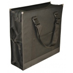 "Prestige™ Backpack Easel Bag: Black/Gray, 6""d x 17 3/4""w x 17 3/4""h, Easel Bag, (model ABP1717), price per each"