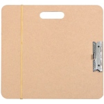 "Heritage Arts™ Artist Sketch Board 15"" x 16"": Brown, 15 1/2"" x 16 1/2"", Masonite, Drawing Board, (model SB1516), price per each"