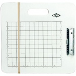 "Heritage Arts™ Gridded Sketch Board 15"" x 16"": White/Ivory, 15 1/2"" x 16 1/2"", Masonite, Drawing Board"