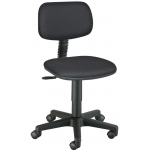 "Alvin® Varsity Task Chair: No, Black/Gray, No, Under 24"", Fabric, (model CH112), price per each"