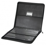 "Prestige™ Premier™ Black Series Leather Presentation Case 18"" x 24"": Black/Gray, Leather, 18"" x 24"", (model PCL1824), price per each"