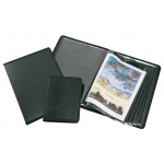 "Alvin® Art Presentation Book 8.5"" x 11"": Black/Gray, Polypropylene, 24 Pages, 8 1/2"" x 11"""