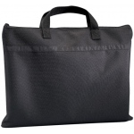 "Prestige™ Student™ Series Black Soft-Sided Portfolio 15"" x 18"": Black/Gray, 1/2"", Nylon, 15"" x 18"""