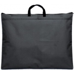 "Prestige™ Student™ Series Black Soft-Sided Portfolio 18"" x 21"": Black/Gray, 1/2"", Nylon, 18"" x 21"", (model N1821), price per each"