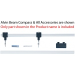 "Alvin® 26"" Channel Beam Bar: Replacement Part, 26"", Compass/Divider, (model 961/24), price per each"