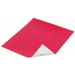 "Duck Tape® Red Tape (Sheet): Red/Pink, Sheet, 8 1/4"" x 10"", Color, (model DT280081), price per sheet"