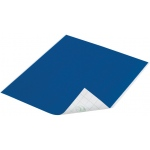 "Duck Tape® Deep Blue Ocean Tape (Sheet): Blue, Sheet, 8 1/4"" x 10"", Color, (model DT280089), price per sheet"