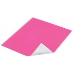 "Duck Tape® Neon Pink Tape (Sheet): Red/Pink, Sheet, 8 1/4"" x 10"", Color, (model DT280082), price per sheet"