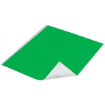 "Duck Tape® Neon Green Tape (Sheet): Green, Sheet, 8 1/4"" x 10"", Color, (model DT280084), price per sheet"