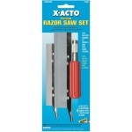 X-Acto® Precision Razor Saw Set: Refill, Knife, (model X-75300), price per set