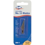 Alvin® No. 11 Art Blades 5-Pack: Refill, Knife, (model CRB-11), price per pack