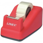 "Linex® Soft Touch Tape Dispenser Pink: Dispenser, General, 3/4"", (model TD100-PK), price per each"
