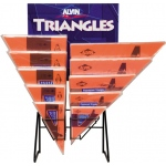 Alvin® FT-Series Triangles Display: Triangle, (model 1145FTD), price per each