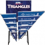 Alvin® S-Series Triangles Display: Triangle, (model 1141D), price per each