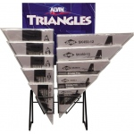 Alvin® SK-Series Triangles Display: Triangle, (model 1146SKD), price per each