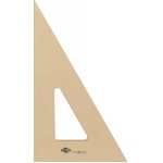"Alvin® 10"" Professional Topaz Tint Triangle 30°/60°: 30/60, Brown, Acrylic, 10"", Triangle, (model T160-10), price per each"
