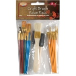 Heritage Arts  Craft Brush Value Pack