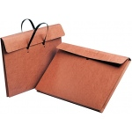 "Star® 17"" x 22"" Carrying Wallet: Red/Pink, Fiberboard, 17"" x 22"", (model E22H), price per each"