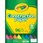 "Crayola 9"" x 12"" Construction Paper Pack 96 Sheets"