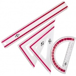 Alvin 4-Piece Geometry Set