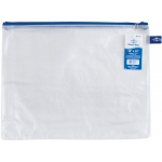 "Alvin® NB Original Series Mesh Bag 10"" x 13"": Assorted, Clear, Mesh, Vinyl, 10"" x 13"", (model NB1013), price per each"