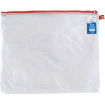 "Alvin® NB Original Series Mesh Bag 15"" x 18"": Assorted, Clear, Mesh, Vinyl, 15"" x 18"", (model NB1518), price per each"