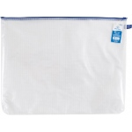 "Alvin® NB Original Series Mesh Bag 16"" x  21"": Assorted, Clear, Mesh, Vinyl, 16"" x 21"", (model NB1621), price per each"