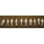 "Wee Scapes™ Architectural Model Human Figures Male 1/8"" 10-Pack: White/Ivory, 10-Pack, 1/8"", People, (model WS00375), price per 10-Pack"
