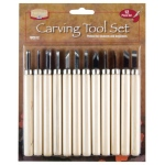 Heritage Arts™ Carving Tool 12-Piece Set: 12-Pack