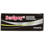 Sculpey® III Oven-Bake Clay Black: Black/Gray, 1 lb, Oven Bake