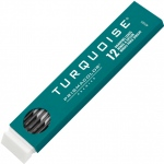 Prismacolor® Turquoise® 2mm Lead F: F, Black/Gray, 2mm, 12-Pack, Lead