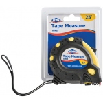 Alvin® 25' Tape Measure: Yellow, 25', Tape Measure, (model ATM25), price per each