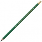 Kimberly® Drawing Pencil 6B: Black/Gray, 6B, Drawing, (model 525G-6B), price per dozen (12-pack)