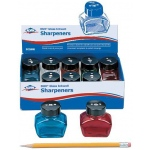 Alvin Glass Inkwell Sharpener Display Assortment