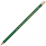 Kimberly® Drawing Pencil 6H: Black/Gray, 6H, Drawing, (model 525G-6H), price per dozen (12-pack)