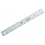 "Lance® 36"" Graduated Aluminum Ruler: Metallic, Aluminum, 36"", General Purpose, (model SE036), price per each"