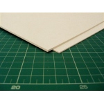 "Taskboard® Taskboard sheets 1/16"" thick 30"" x 40"" Basswood-tone - 25/Bx: White/Ivory, Sheet, 25 Sheets, 30"" x 40"", (model TB1125), price per 25 Sheets box"