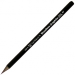 All-Art® Woodless 2B Graphite Pencil: Black/Gray, 2B, (model 97-2B), price per dozen (12-pack)