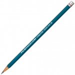 Prismacolor® 375 Series Turquoise® Drawing Pencil B: Black/Gray, B, Drawing, (model E375-B), price per dozen (12-pack)
