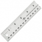 "Alvin® 18"" Flexible Stainless Steel Ruler: Metallic, Steel, 18"", General Purpose, (model R590-18), price per each"
